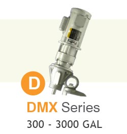 DMX Series Portable Mixers Up to 3,000 Gallons