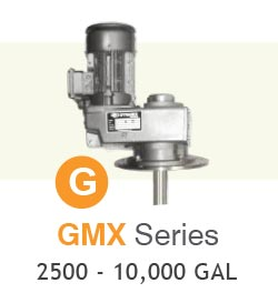 GMX Series Industrial Mixers Up To 10,000 Gallons