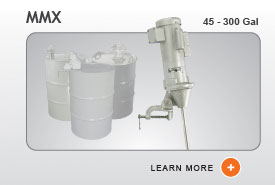MMX Industrial Agitator Mixers