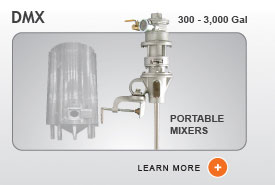 DMX Industrial Agitator Mixers