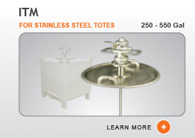 ITM Tote Tank Mixers - Stainless Steel Totes