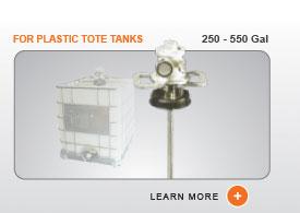 ITM Tote Tank Mixers - Plastic Totes