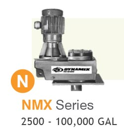 NMX Series Industrial Mixers Up to 100,000 gallons