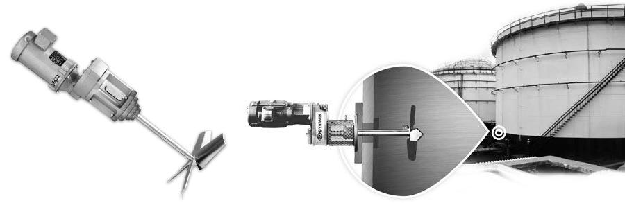 SMX Series Side Entry Industrial Agitators