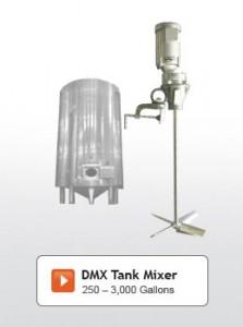 DMX Series Tank Mixers