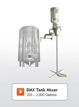DMX Series Tank Mixers
