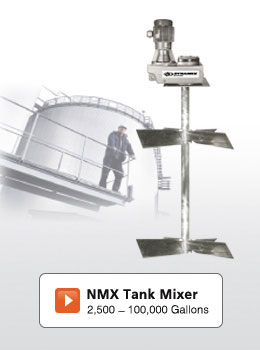 NMX Series - Large Tank Mixers