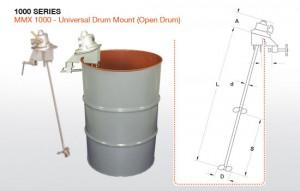 Open Head Small Tank Mixer