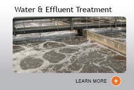 Water & Effluent Treatment Industrial Mixers