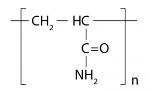 Polyacrylamide chemical equation