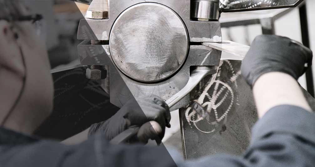 Manufacturing large impeller for industrial agitators