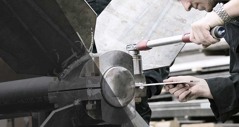 Large industrial impeller